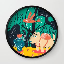 We are picnickers Wall Clock