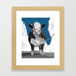 Welcome to the Pasture 2 Framed Art Print
