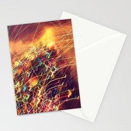 Butterfly Lights Stationery Cards
