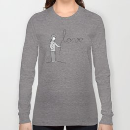 LOVE YOU - His & Hers Matching Couples T-Shirts (MEN'S) Long Sleeve T-shirt