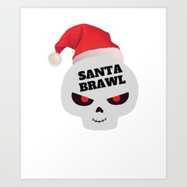 brawl gamer brawler zocken gaming time for brawl Art Print