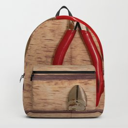 Red Handles Backpack