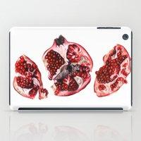 pomegranate iPad Cases featuring Pomegranate  by Sam Luotonen
