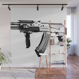 AK-47 Wall Mural