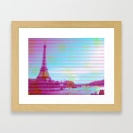 SUMMERY EYES Framed Art Print