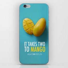 It Takes Two to Mango iPhone Skin