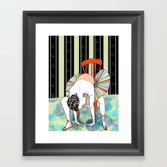 I'm So Tired Framed Art Print