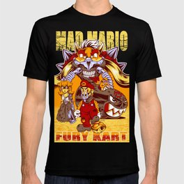 Mad Mario: Fury Kart T-shirt