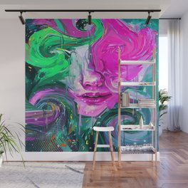 My Twisted Mind Wall Mural