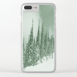 Winter day 22 Clear iPhone Case