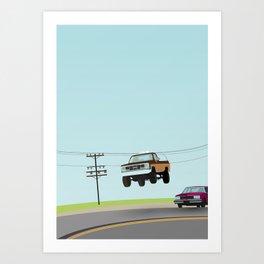 Fall Guy Art Print