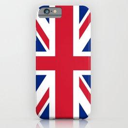 flag of uk- London,united kingdom,england,english,british,great britain,Glasgow,scotland,wales iPhone Case