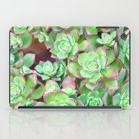 succulents iPad Cases featuring Succulents  by Lisa Argyropoulos