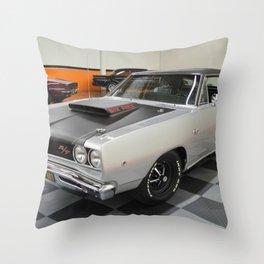 1968 Hemi Coronet Six Pack Throw Pillow