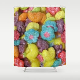 Fruity Cereal Shower Curtain