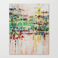 ABSTRACTION island Canvas Print