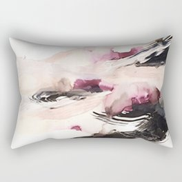 Day 7: Through stillness time can temper many things. Rectangular Pillow