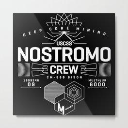 nostromo, alien Metal Print