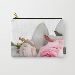 Get Real Flowers Carry-All Pouch