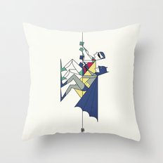 The POW! of love Throw Pillow