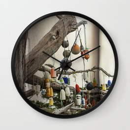 The Fishing Tree Wall Clock