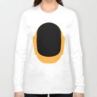 deadmau5 Long Sleeve T-shirts featuring Daft Punk Guy Manuel Helmet by Alli Vanes