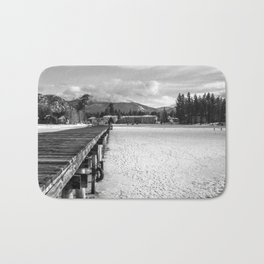 White Tahoe Bath Mat