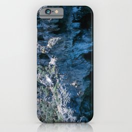 NATURE'S WONDER #4 - BLUE GROTTO #art #society6 iPhone Case