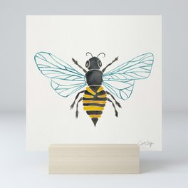 Honey Bee Mini Art Print