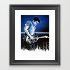 John Mayer Blues Framed Art Print