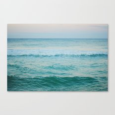 only the ocean Canvas Print