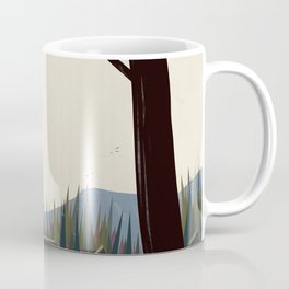 The river through the pines Coffee Mug