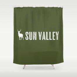 Deer: Sun Valley, Idaho Shower Curtain