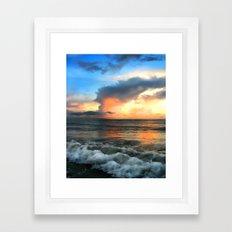 Madeira Beach Sunset 2 Framed Art Print