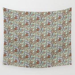 Yarnball Kitty Cat Wall Tapestry