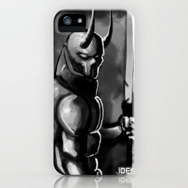 The Devel Blood iPhone Case