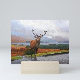 Rannoch, Scotland Mini Art Print