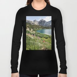 Sierra Alpine Wildflowers Long Sleeve T-shirt