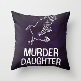 Emily Kaldwin: Murder Daughter Throw Pillow