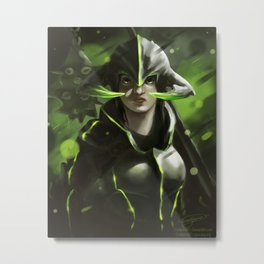 Knightess of Strength Metal Print