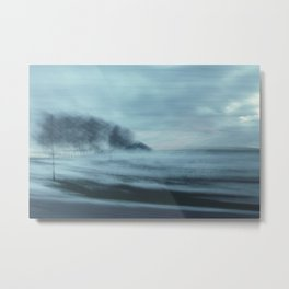 Winter Memories Metal Print
