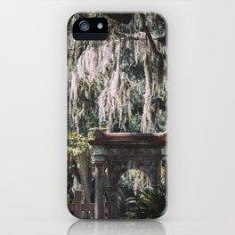 Bonaventure Cemetery, Savannah, Georgia iPhone Case