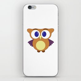 Baby  owl iPhone Skin