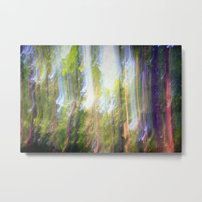 Sun shower in the Fairy Forest Metal Print