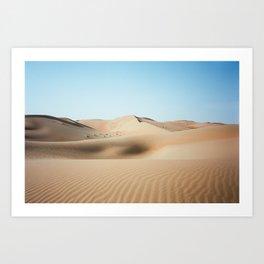 Liwa Dunes, Abu Dhabi Art Print