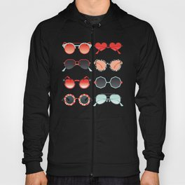 Sunglasses Collection – Red & Mint Palette Hoody