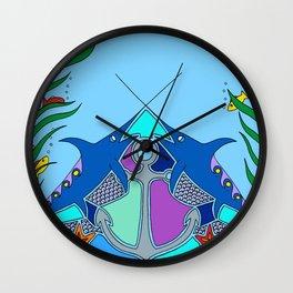 Swordfish Wall Clock