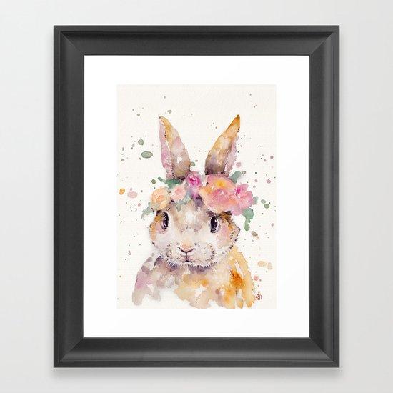 Little Bunny Framed Art Print