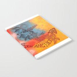 You Anchor Me zentangle anchor zendoodle doodle  Notebook