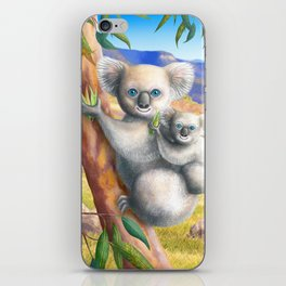 Koala and Joey iPhone Skin